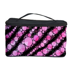 Pink Black Tiger Bling  Cosmetic Storage Case