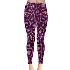 Cheetah Bling Abstract Pattern  Leggings