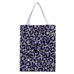 Lavender Cheetah Bling Abstract  Classic Tote Bag