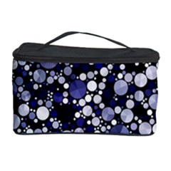 Lavender Cheetah Bling Abstract  Cosmetic Storage Case