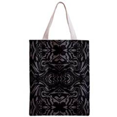 Trippy Black&white Abstract  Classic Tote Bag