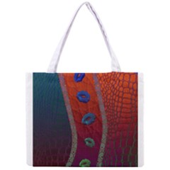 Funky Florescent Sassy Lips  Tiny Tote Bag