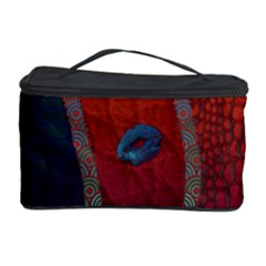 Funky Florescent Sassy Lips  Cosmetic Storage Case