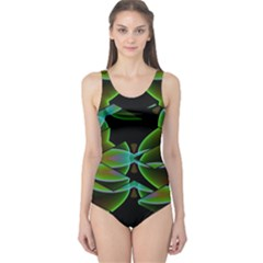 Crazy Beautiful Abstract  One Piece Swimsuit