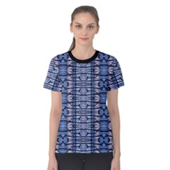 Tribal Geometric Print Women s Cotton Tee