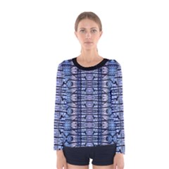 Tribal Geometric Print Women s Long Sleeve T-shirt
