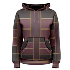 Vertical and horizontal rectangles Pullover Hoodie