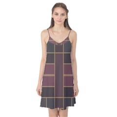 Vertical and horizontal rectangles Camis Nightgown
