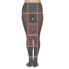 Vertical and horizontal rectangles Tights