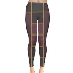 Vertical and horizontal rectangles Leggings