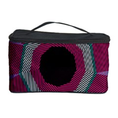 Striped hole Cosmetic Storage Case
