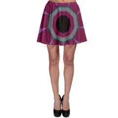 Striped Holeskater Skirt