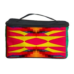 Colorful tribal texture Cosmetic Storage Case