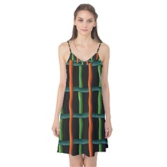 Orange green wires Camis Nightgown