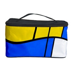 Colorful Distorted Shapes Cosmetic Storage Case