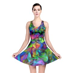 Unicorn Smoke Reversible Skater Dress
