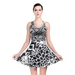 70 s Wallpaper Reversible Skater Dress