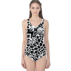 70 s Wallpaper One Piece Swimsuit