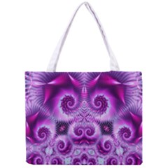 Purple Ecstasy Fractal Tiny Tote Bag