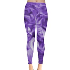 Lavender Smoke Swirls Leggings