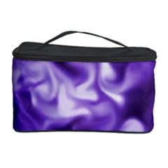 Lavender Smoke Swirls Cosmetic Storage Case
