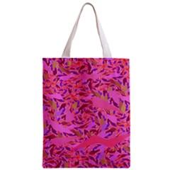 Bright Pink Confetti Storm Classic Tote Bag