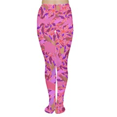 Bright Pink Confetti Storm Tights