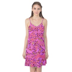 Bright Pink Confetti Storm Camis Nightgown