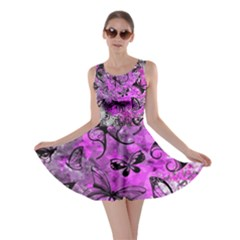 Butterfly Graffiti Skater Dress