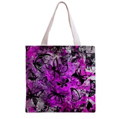 Butterfly Graffiti Grocery Tote Bag