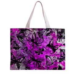 Butterfly Graffiti Tiny Tote Bag