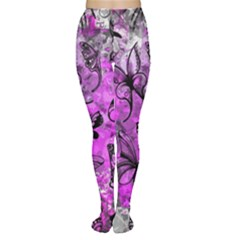 Butterfly Graffiti Tights