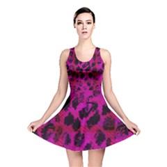 Pink Leopard Reversible Skater Dress