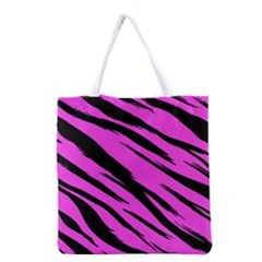 Pink Tiger Grocery Tote Bag