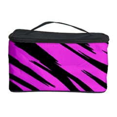 Pink Tiger Cosmetic Storage Case