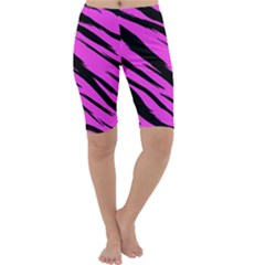 Pink Tiger Cropped Leggings