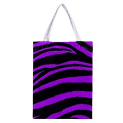 Purple Zebra Classic Tote Bag