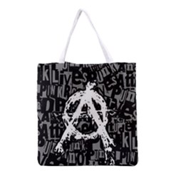 Anarchy Grocery Tote Bag