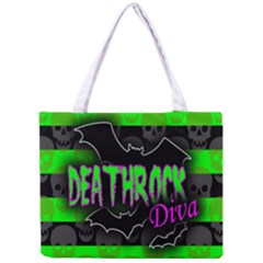 Deathrock Diva Tiny Tote Bag