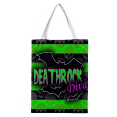 Deathrock Diva Classic Tote Bag