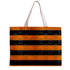 Deathrock Stripes Tiny Tote Bag