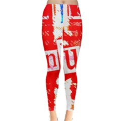 Punk Union Jack Leggings
