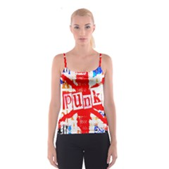 Punk Union Jack Spaghetti Strap Top