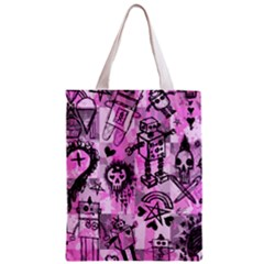Pink Scene Kid Sketches Classic Tote Bag