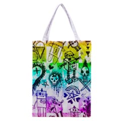 Rainbow Scene Kid Sketches Classic Tote Bag