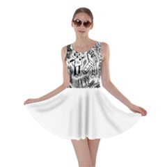 Robot Love Skater Dress