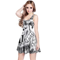 Robot Love Reversible Sleeveless Dress