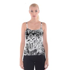 Robot Love Spaghetti Strap Top