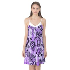 Purple Scene Kid Sketches Camis Nightgown