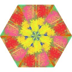 Colorful paint spots Umbrella